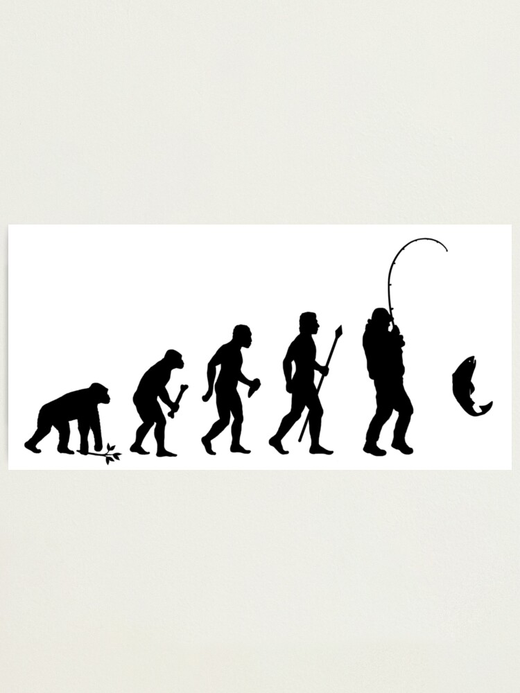 Evolution Of Man To Fisherman Fishing Funny Rod Lures Hoodie Pullover Sweatshirt