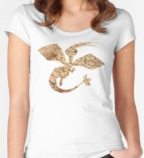 Flygon used Sandstorm Women's Fitted Scoop T-Shirt