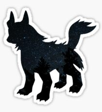 Mightyena used Dark Pulse Sticker
