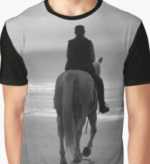 Into The Fog B&W Graphic T-Shirt
