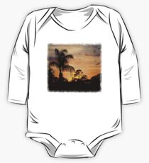 Fast Moving Clouds at Sunset One Piece - Long Sleeve