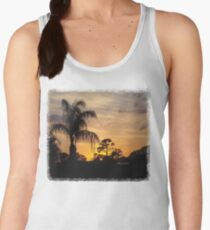 Fast Moving Clouds at Sunset Women's Tank Top