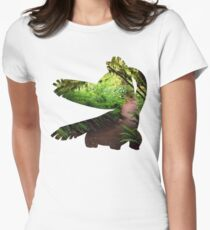 Tropius used Leaf Storm Women's Fitted T-Shirt