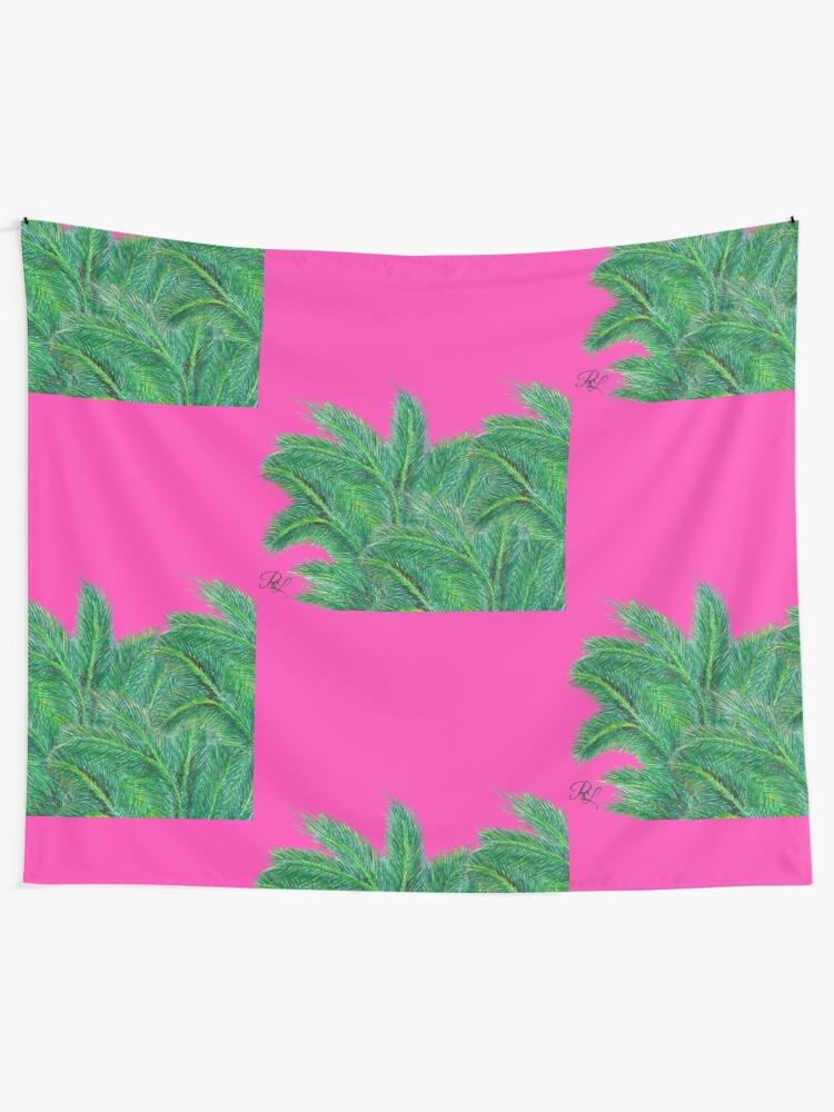 Alternate view of Palm Forest Tapestry
