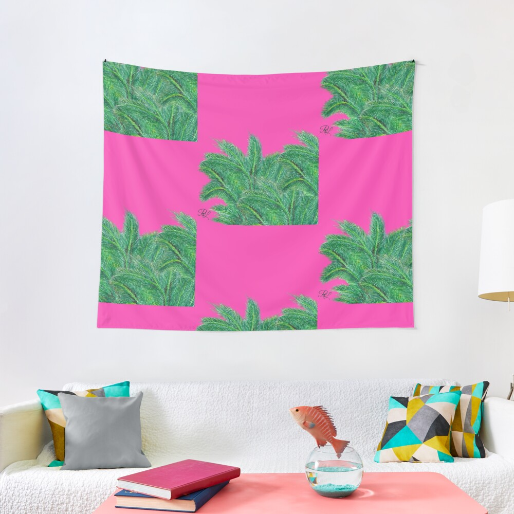 Palm Forest Tapestry