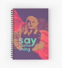 Christina Aguilera / Say Something Spiral Notebook