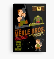 Super Merle Brothers Metal Print