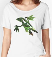 Grovyle used Leaf Blade Women's Relaxed Fit T-Shirt