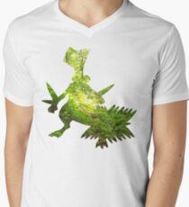 Sceptile used Leaf Storm Men's V-Neck T-Shirt