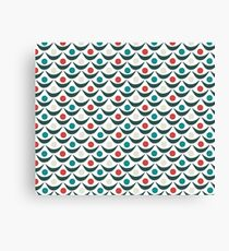 1940s Pattern Canvas Print