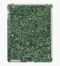 GREEN GRASS TEXTURE PHOTOGRAPHY iPad Case/Skin