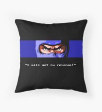 Ninja Gaiden Revenge Throw Pillow