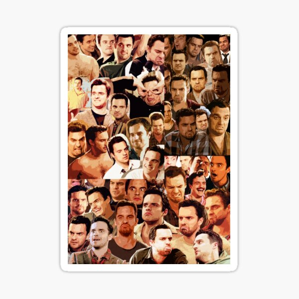 Nick Miller Paparazzi Sticker