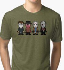 Horror Movie -  Serial Killers - Cloud Nine Tri-blend T-Shirt