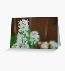 Foam Flower Greeting Card