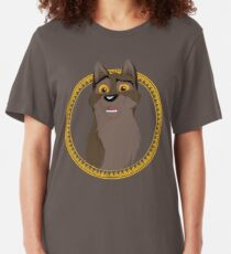Not a Dog, Not a Wolf Slim Fit T-Shirt