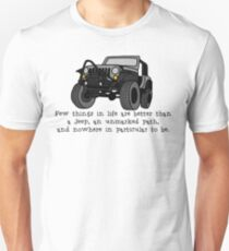 Jeep, Unmarked Path Unisex T-Shirt