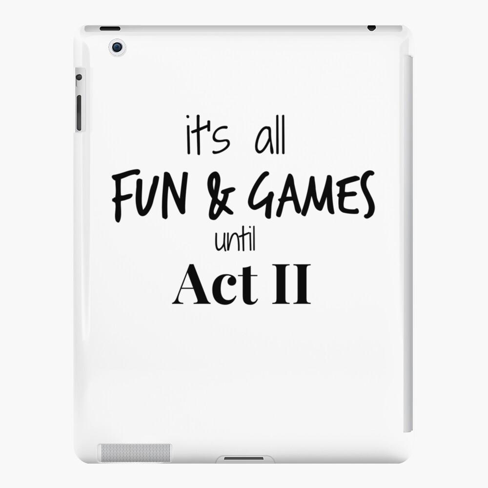 Acto 2 se vuelve real Funda y vinilo para iPad