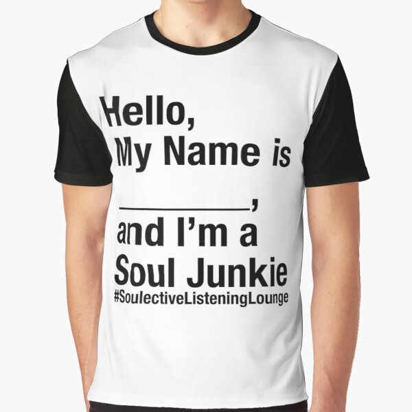 SOULective Listening Lounge Tee - 009 Black Type Graphic T-Shirt