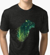 Space Tiger Tri-blend T-Shirt