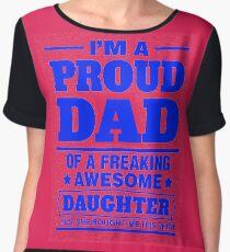 Proud Dad - Father's Day Women's Chiffon Top