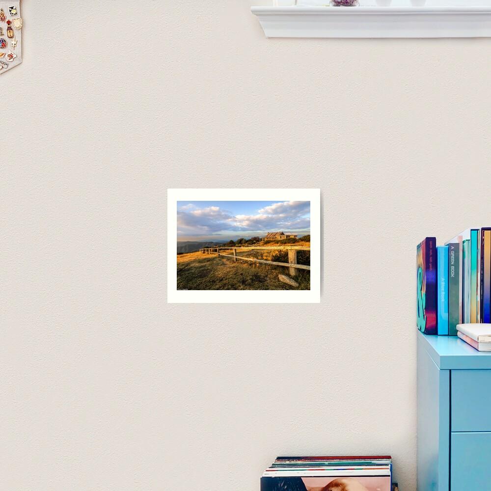 Craig's Hut, Mt Stirling. Art Print