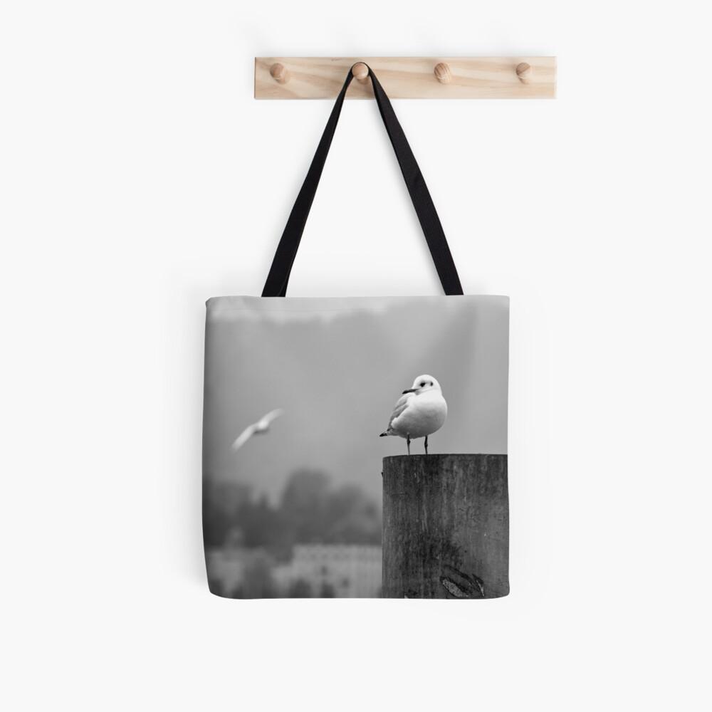 Gull Gazing, Lake Zurich Tote Bag
