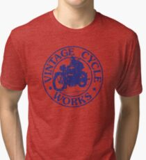 Vintage Cycle Works Tri-blend T-Shirt