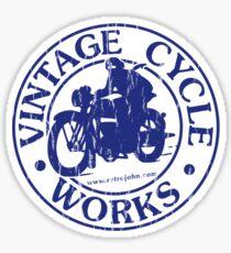 Vintage Cycle Works Sticker