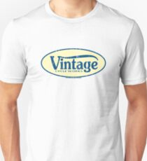 Vintage Cycle Works - oval badge Unisex T-Shirt