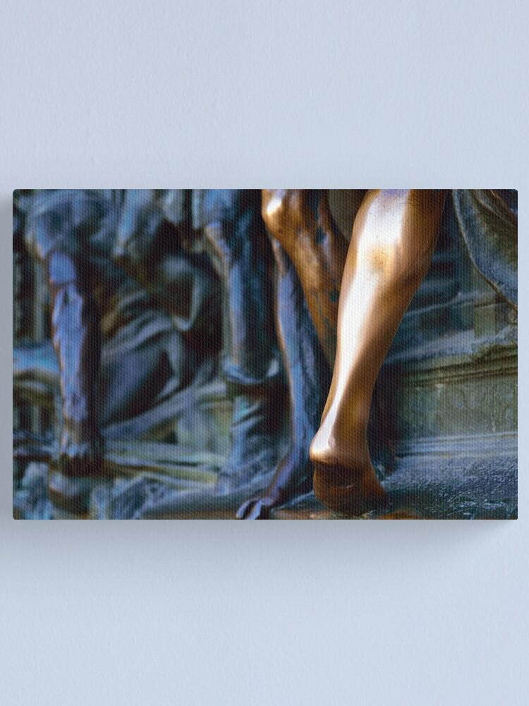 Alternate view of Brass Rubbing Canvas Print