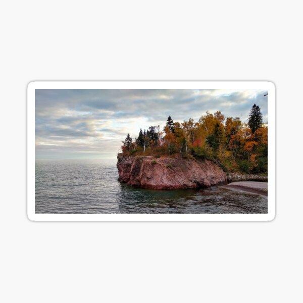Autumn on the North Shore Sticker
