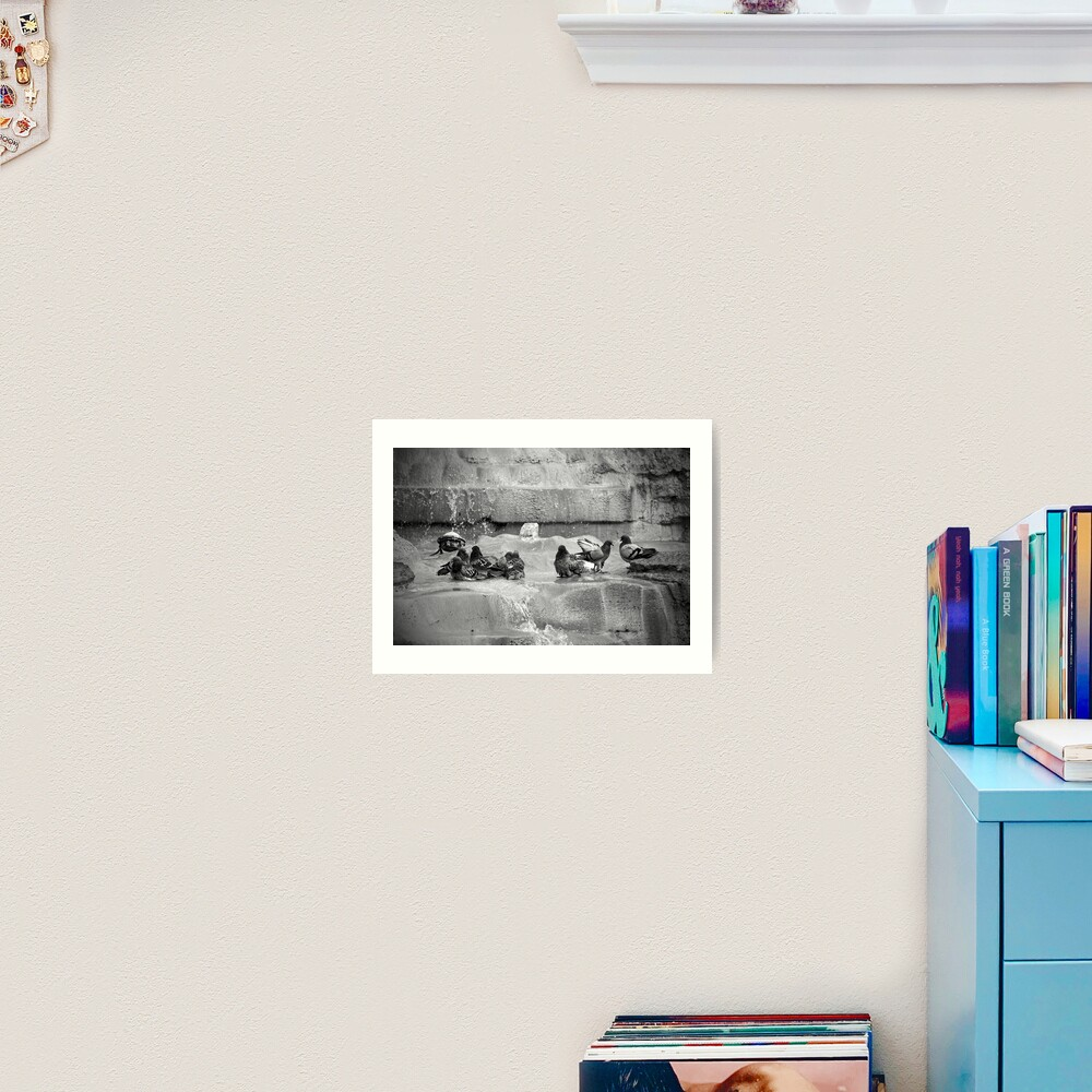 Playing in the Trevi Art Print