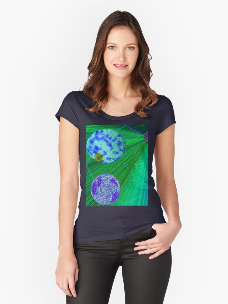 A Real Corker Women's Fitted Scoop T-Shirt Front
