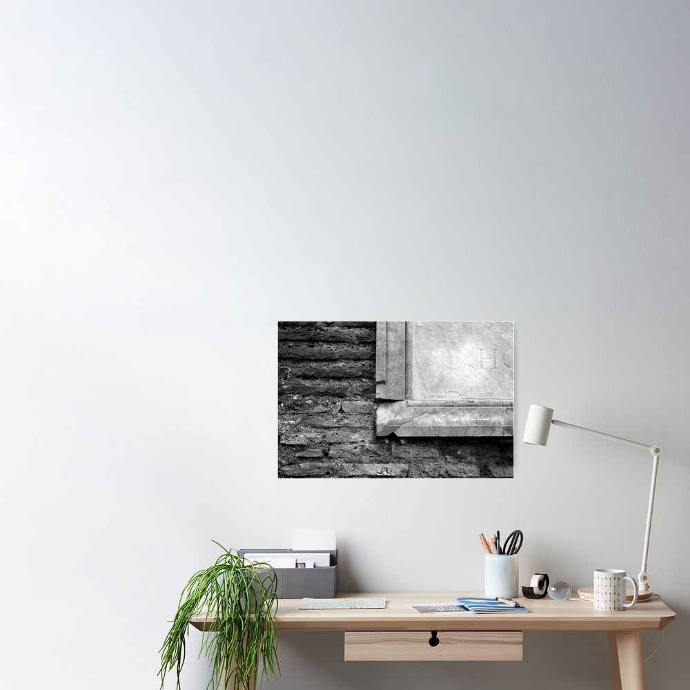 Marble & Brick Poster
