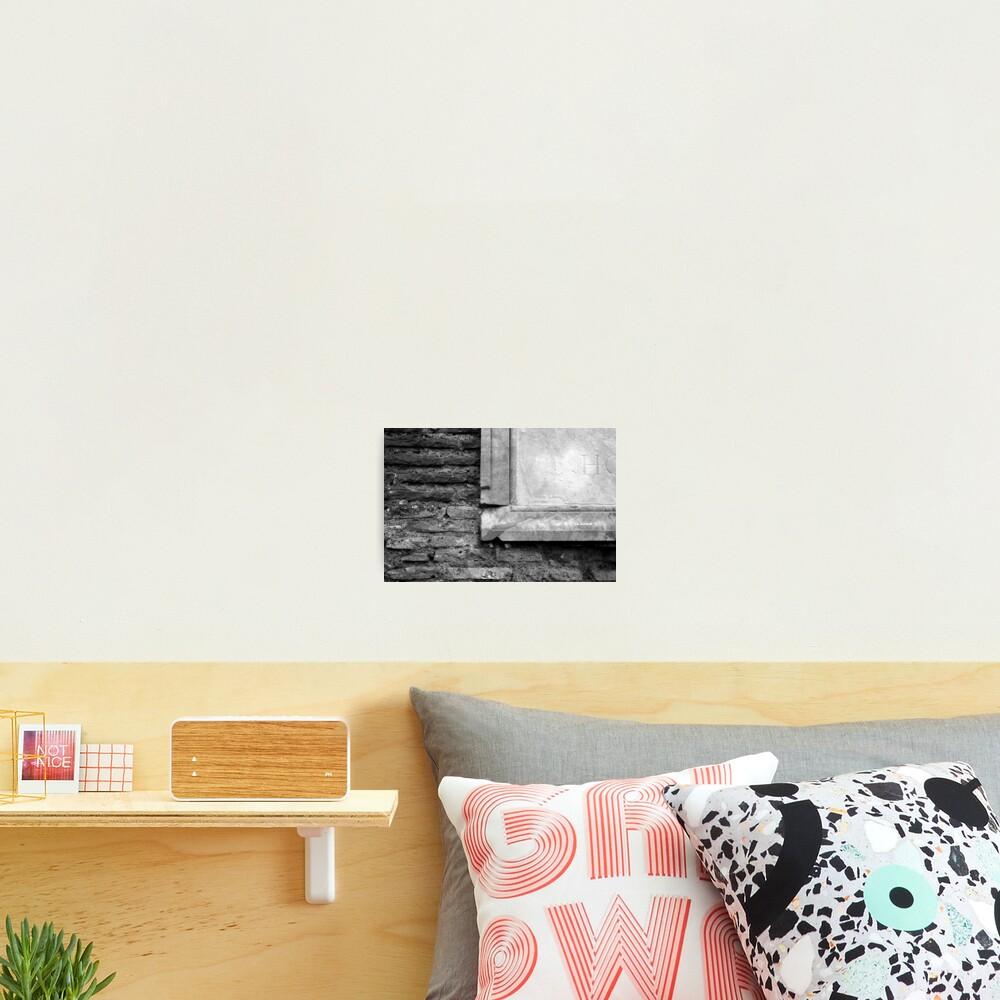Marble & Brick Photographic Print