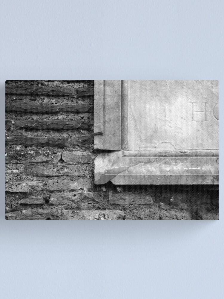 Alternate view of Marble & Brick Canvas Print