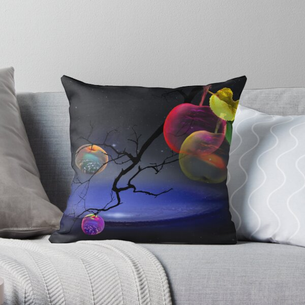 Apple Spheres Pillow Throw Pillow