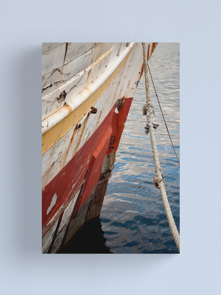 Alternate view of Alma's Bow Canvas Print