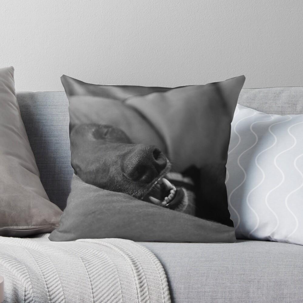 Blissful Sleep Throw Pillow