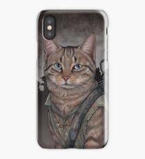 Daryl Dixon Cat iPhone Case