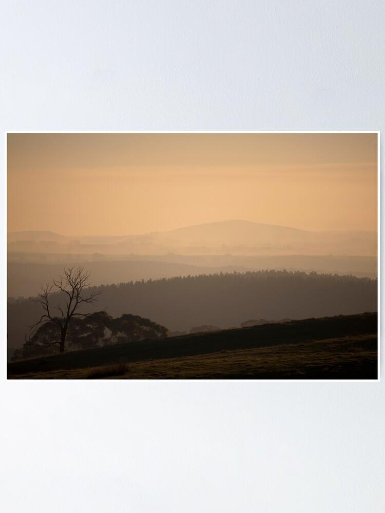 Alternate view of Smokey Town, Creswick Poster