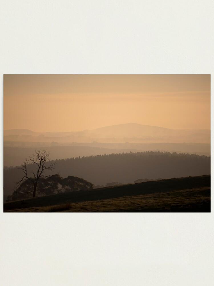 Alternate view of Smokey Town, Creswick Photographic Print