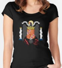 Coat of Arms of Spain (1938-1945) Women's Fitted Scoop T-Shirt