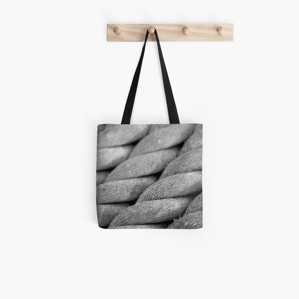 Neatly Twisted Tote Bag