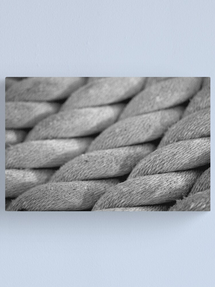 Alternate view of Neatly Twisted Canvas Print
