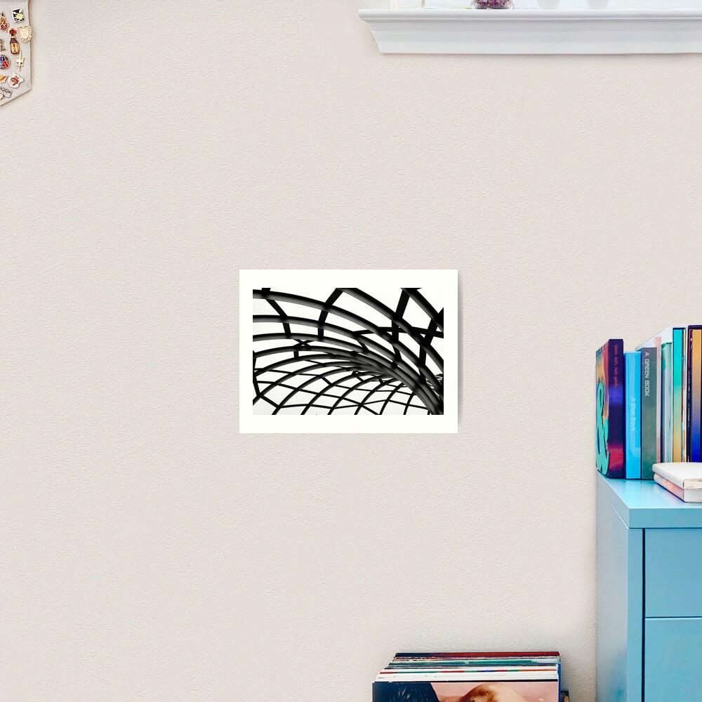 Twists & Turns Art Print