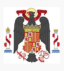 Coat of Arms of Spain (1945-1978) Photographic Print