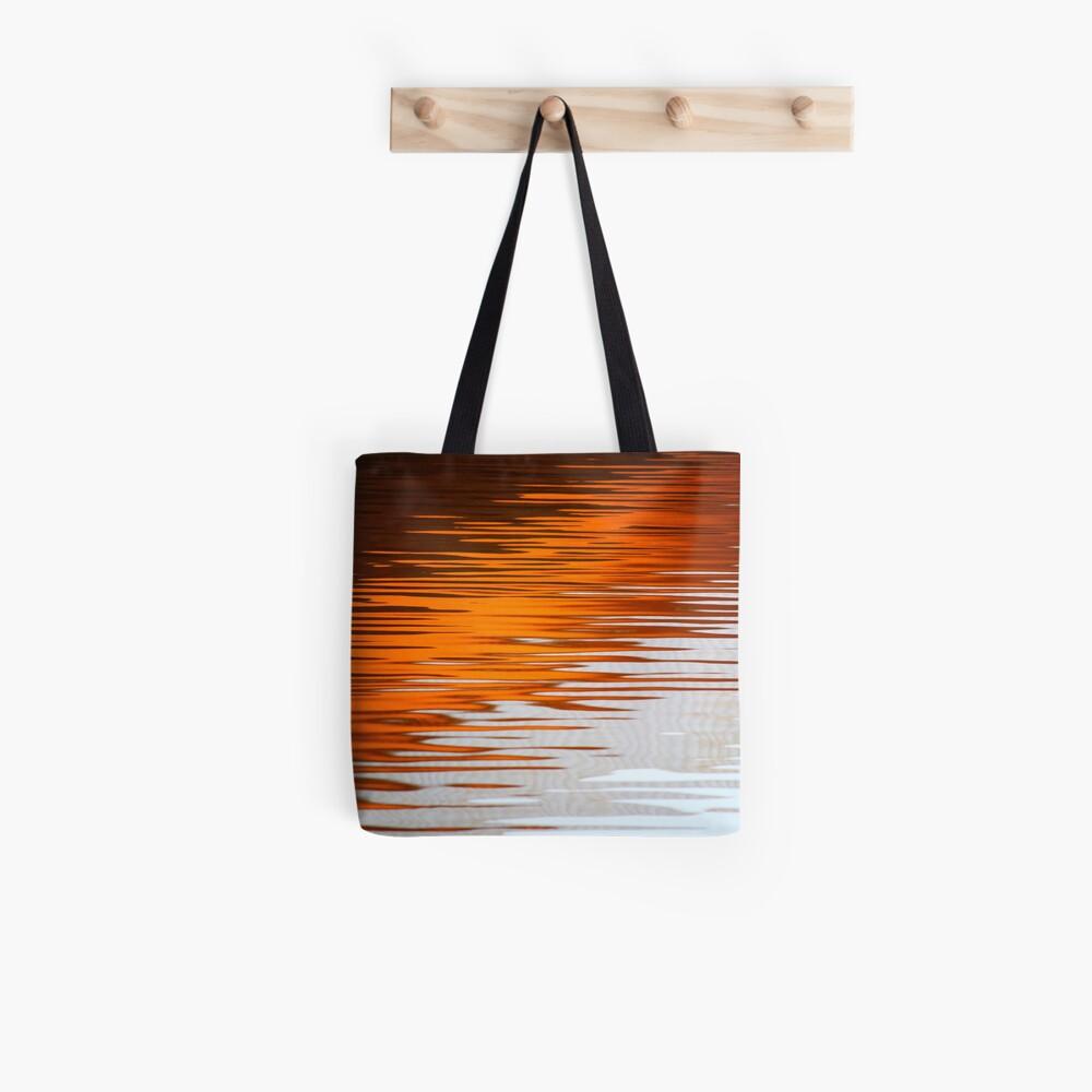 Orange Water Tote Bag