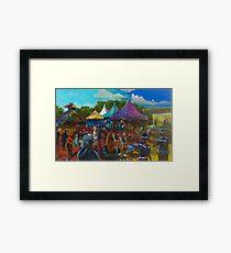 2016 1770 festival of Captain Cook Framed Print